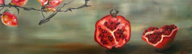 Granatäpfel-Malerei-Anja Brinkmann