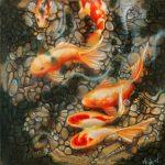 Malerei-the Koypond-Öl auf Leinwand-Anja Brinkmann