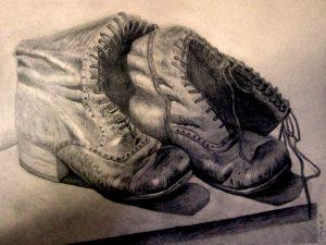 Schuhe-Zeichnung-Anja Brinkmann