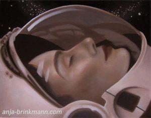 Anja Brinkmann, Malerei, inner astronaut, Portrait