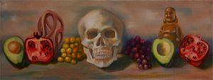 Malerei-Memento Mori 1-Öl auf Leinwand-Anja Brinkmann