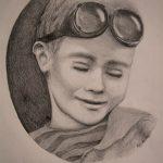 Little Icarus-Zeichnung-Anja Brinkmann