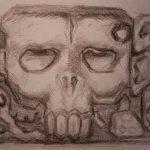 Mexiko I-Zeichnung-Anja Brinkmann