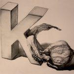 Stilleben mit Kürbis-Zeichnung-Anja Brinkmann
